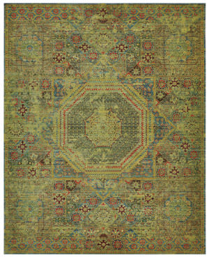 Nourison Timeless Tml06 Teal Area Rug