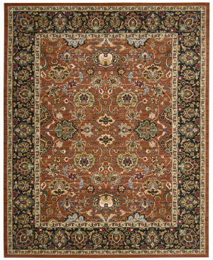 Nourison Timeless Tml20 Persimmon Area Rug