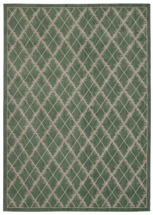 Nourison Tranquility Tnq01 Light Green Area Rug