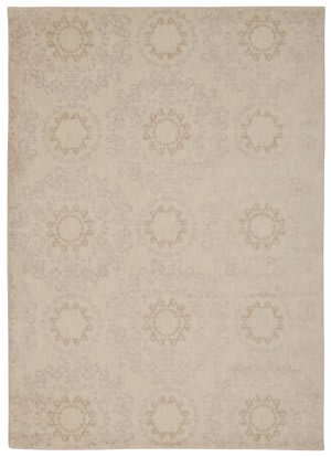 Nourison Tranquility Tnq03 Ivory Area Rug