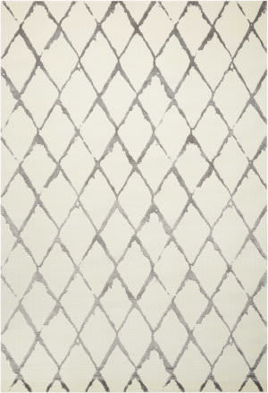Nourison Twilight Twi15 Ivory - Grey Area Rug