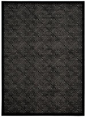 Nourison Ultima Ul323 Ivory - Black Area Rug