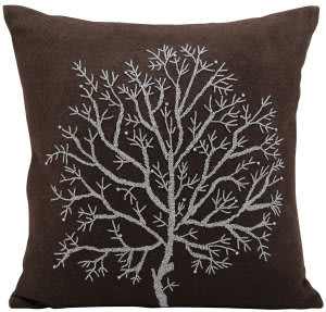 Nourison Pillows Luminescence V4051 Brown