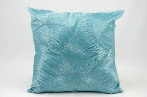 Nourison Pillows Luminescence V5023 Turquoise