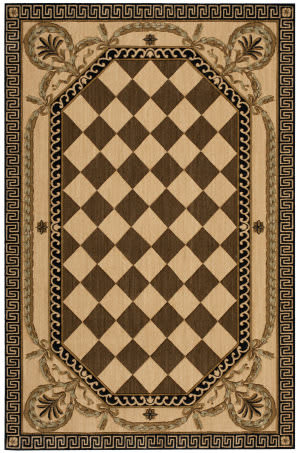 Nourison Grand Parterre-Parth Va02 Multicolor Area Rug