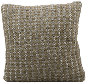 Nourison Pillows Woven Luster Vc305 Brown