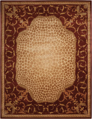 Nourison Versailles Palace Vp20 Red Area Rug
