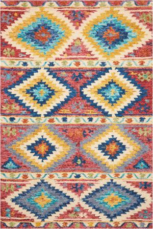Nourison Vibrant Vib02 Multicolor Area Rug