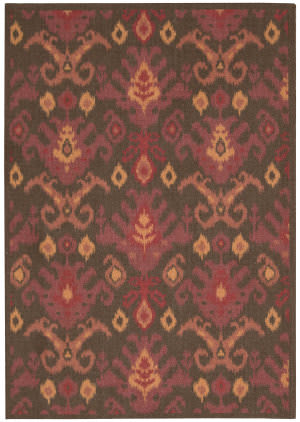 Nourison Vista VIS-20 Brown Area Rug