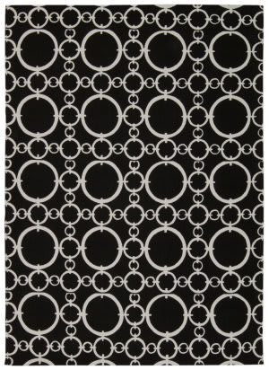 Nourison Art House Wah06 Black Area Rug