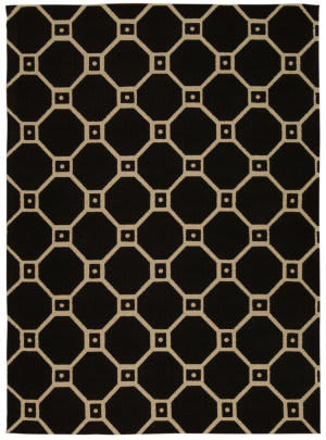 Nourison Color Motion Wcm08 Black Area Rug
