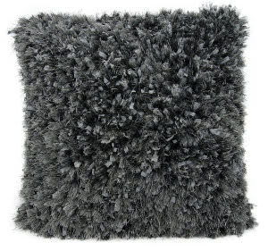 Nourison Shag Pillow We210 Charcoal