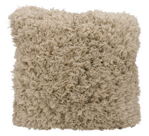 Nourison Shag Pillow We307 Beige