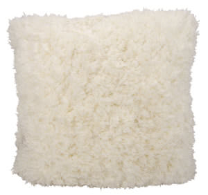 Nourison Shag Pillow We307 Ivory