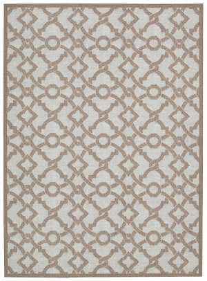 Nourison Wav16 Treasures Wtr01 Earl Grey Area Rug