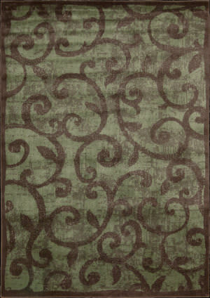 Nourison Expressions XP-02 Brown Area Rug