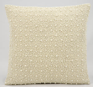 Kathy Ireland Pillows Z1115 Ivory