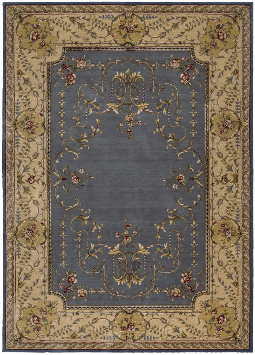 Rugstudio Sample Sale 22905r Blue Last Chance Rug Studio