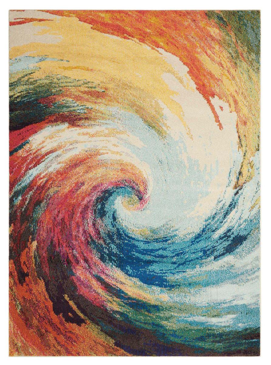 Nourison Celestial Ces07 Wave Rug Studio