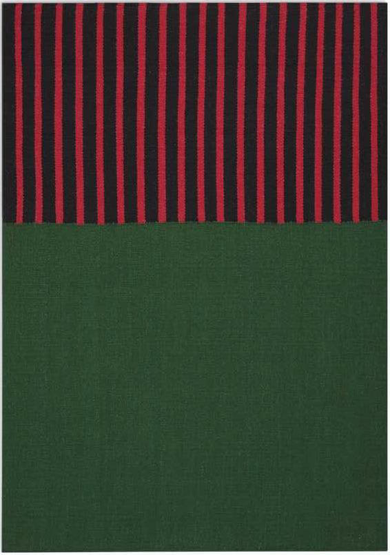 Calvin Klein Nashville Ck750 Hunter Green Magenta Black Rug Studio