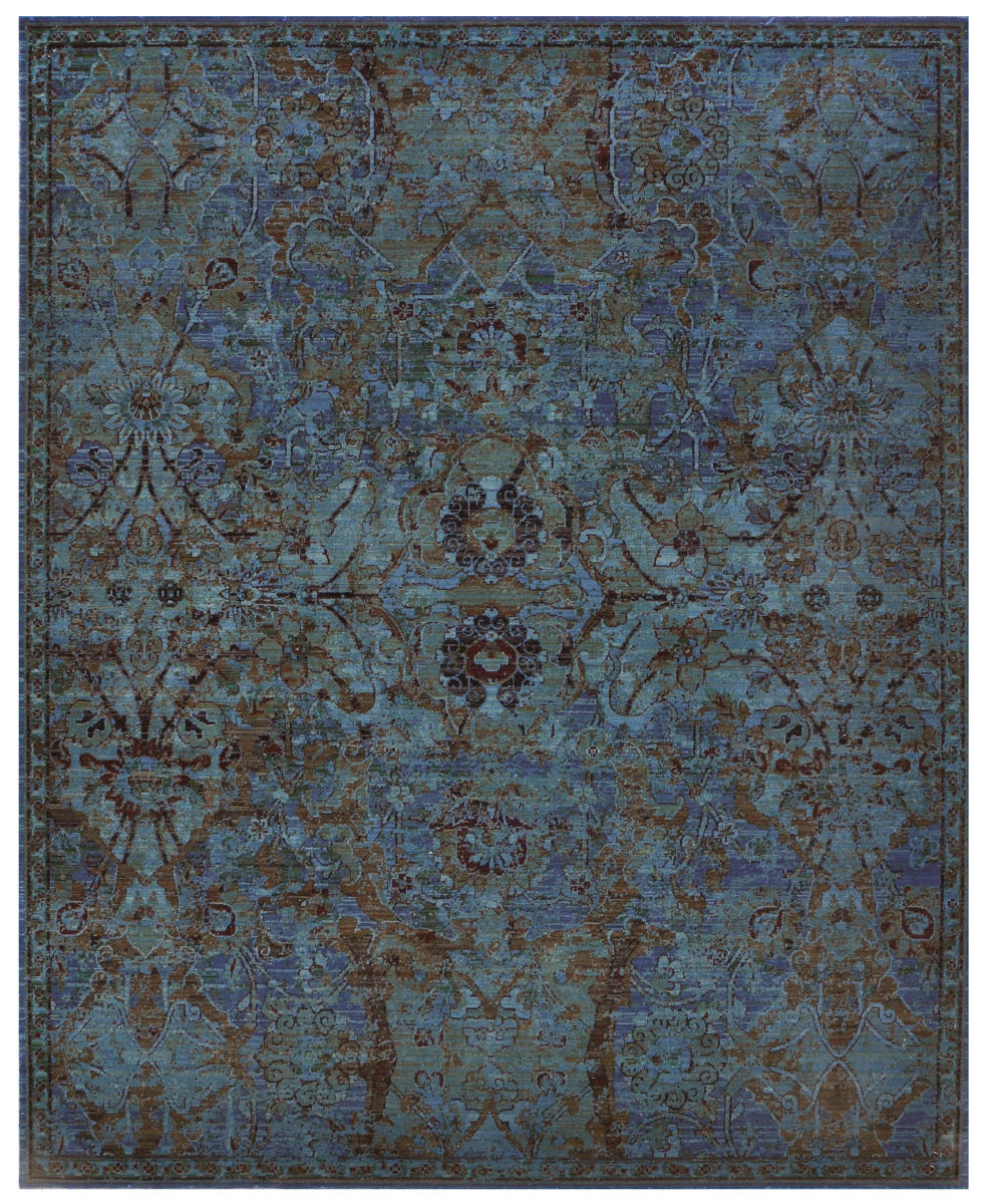 Nourison Timeless Tml02 Peacock Area Rug #125025