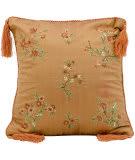 Nourison Pillows Silk Embroidery 3232 Paprika