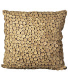 Nourison Pillows Button 4002 Green