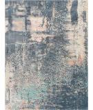 Nourison Abstract Shag Abs02 Slate Blue Area Rug