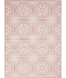 Nourison Jubilant Jub06 Ivory - Pink Area Rug