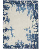 Nourison Etchings Etc04 Ivory - Blue Area Rug