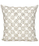 Nourison Mina Victory Pillows A0063 Ivory
