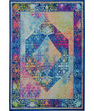 Nourison Ankara Global Anr04 Blue - Multicolor Area Rug