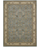 Kathy Ireland Antiquities Ant04 Slate Blue Area Rug