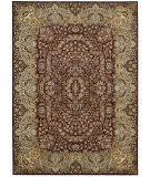 Kathy Ireland Antiquities Ant05 Burgundy Area Rug