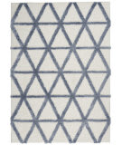 Nourison Highlands HND01 Ivory Blue Area Rug