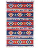 Nourison Baja Baj03 Blue - Red Area Rug