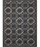 Nourison Caribbean Crb16 Charcoal Area Rug