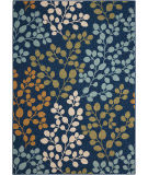 Nourison Caribbean Crb01 Navy Area Rug