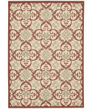 Nourison Carribean Crb02 Ivory Rust Area Rug