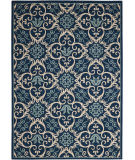 Nourison Caribbean Crb02 Navy Area Rug
