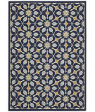 Nourison Carribean Crb07 Navy Area Rug