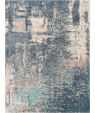 Nourison Corsica Shag Crc02 Slate Blue Area Rug