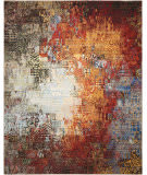 Nourison Chroma Crm03 Ember Glow Area Rug