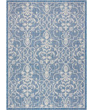Nourison Country Side CTR04 Denim Area Rug