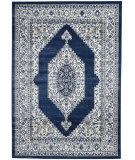 Nourison Cyrus CYR01 Ivory - Navy Area Rug