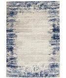 Nourison Cyrus CYR04 Ivory - Navy Area Rug