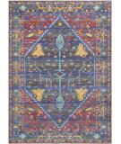 Nourison Delmar Dlm03 Navy-Red Area Rug