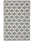 Nourison Decor Der06 Slate White Area Rug