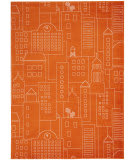 Nourison Dws02 Miles Ds202 Orange Area Rug
