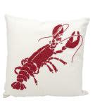 Nourison Outdoor Pillow E0404 Red White